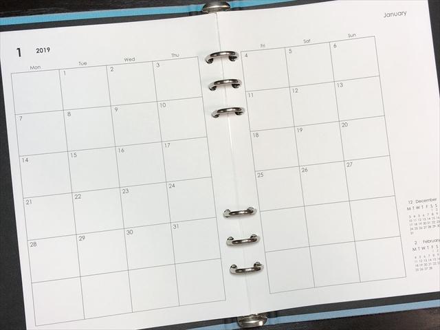 手帳 リフィル a5 無料 ダウンロード