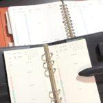 バイブルサイズのシステム手帳からA5サイズの20穴ルーズリーフに変更しました